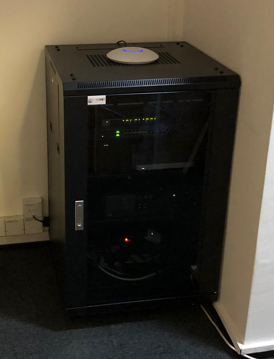 Here is our latest server install